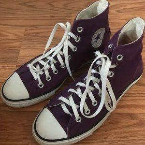 Purple Converse High Tops!